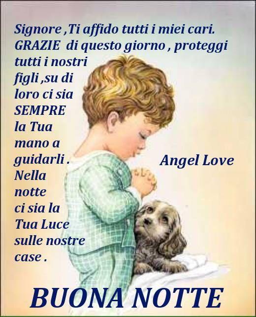 Auguro A Tutti Una Notte Serena Lia In Onore Di Maria