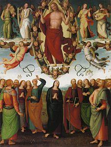 Gesù ascende Pietro_Perugino_cat75